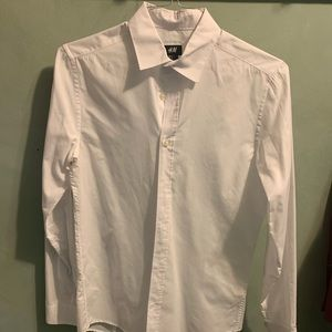 H&M White Button-Up
